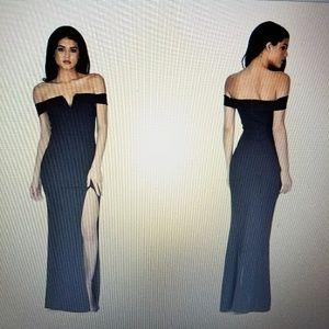 NWT AX Paris V front Maxi dress